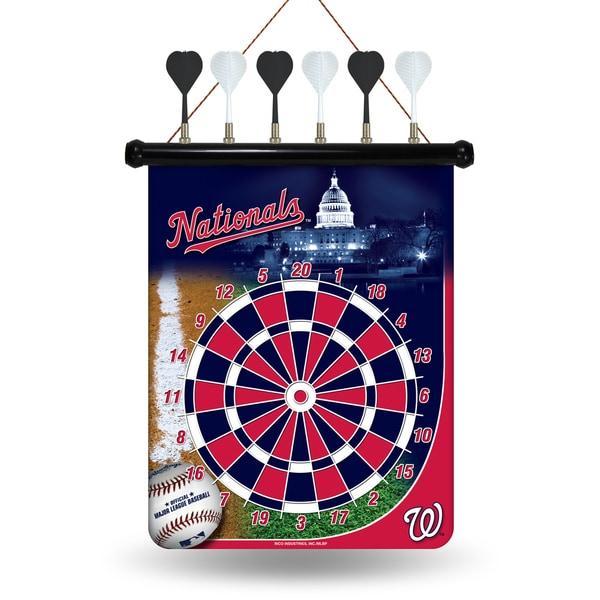 Washington Nationals Magnetic Dart Set