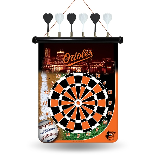 Baltimore Orioles Magnetic Dart Set