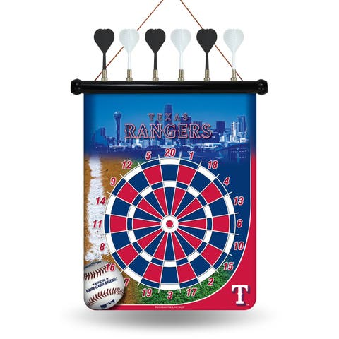 Texas Rangers Magnetic Dart Set - Red/White/Blue
