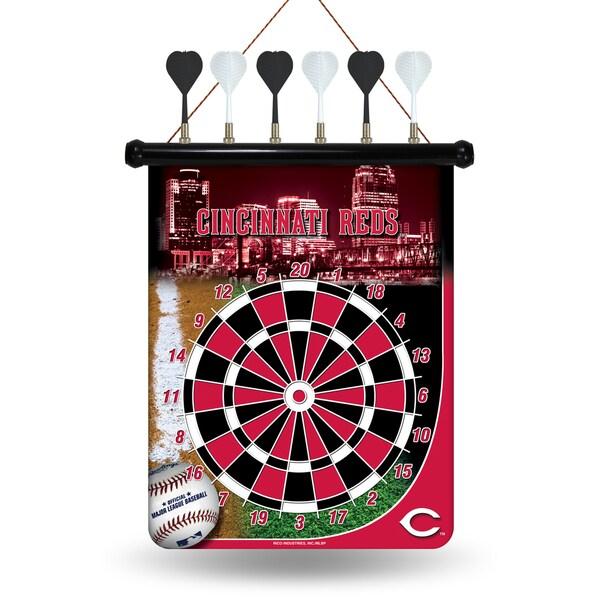 Cincinnati Reds Magnetic Dart Set