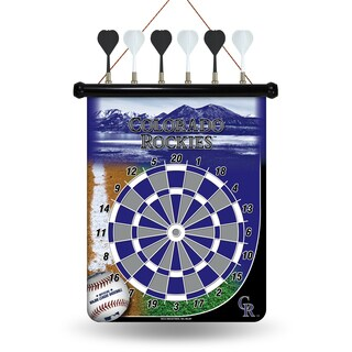 Colorado Rockies Magnetic Dart Set