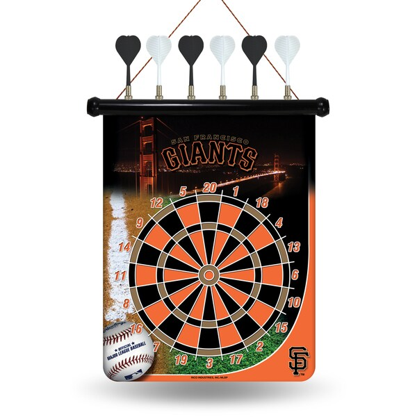 San Francisco Giants Magnetic Dart Set