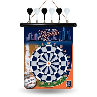 Detroit Tigers Magnetic Dart Set