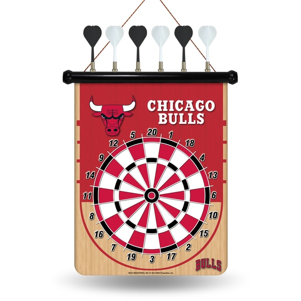 Chicago Bulls Magnetic Dart Set