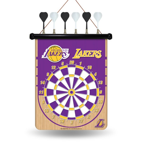 Los Angeles Lakers Magnetic Dart Set