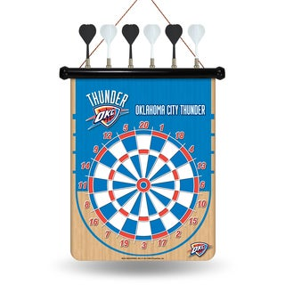 Oklahoma City Thunder Magnetic Dart Set