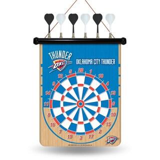 Oklahoma City Thunder Magnetic Dart Set