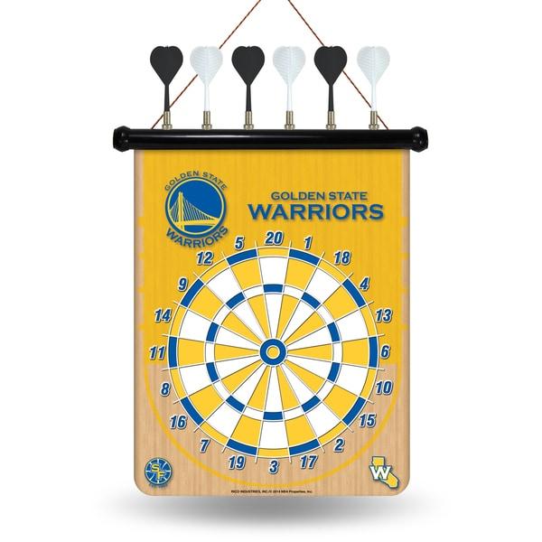 Golden State Warriors Magnetic Dart Set