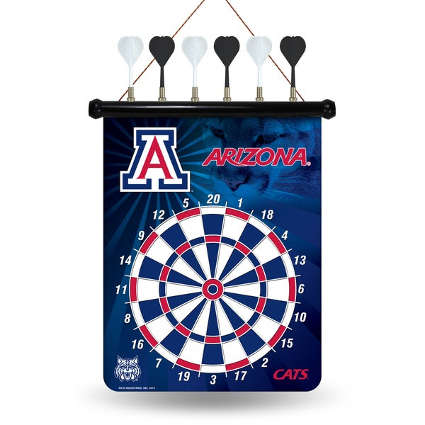 Arizona Wildcats Magnetic Dart Set