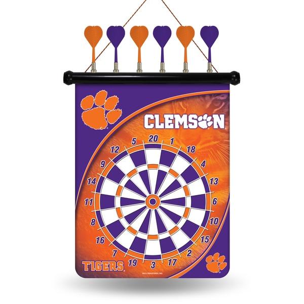 Clemson University Tigers Magnetic Dart Set