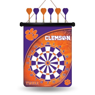 Clemson University Tigers Magnetic Dart Set