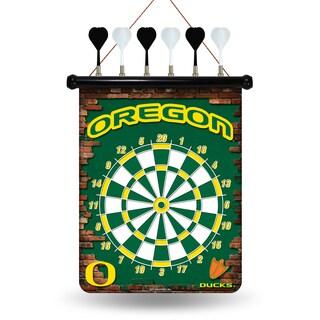 Oregon Ducks Magnetic Dart Set
