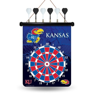 Kansas Jayhawks Magnetic Dart Set