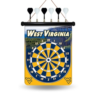 West Virginia Mountaineers Magnetic Dart Set