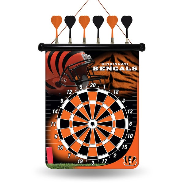 Cincinnati Bengals Magnetic Dart Set