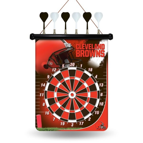 Cleveland Browns Magnetic Dart Set