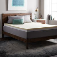 Select Luxury 4-inch Restore-a-Mattress Foam and Memory Foam Mattress Topper