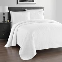 Kotter Home Lightweight Zaria 3-Piece Quilt / Coverlet Set