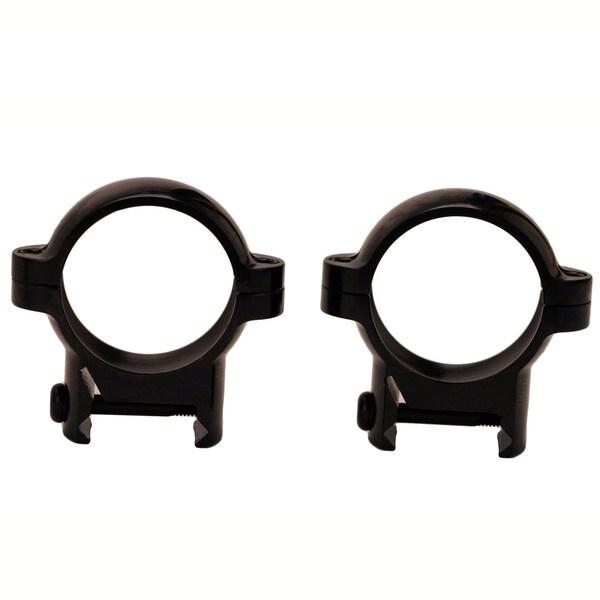 Burris Signature 1-inch Zee Rings Medium Black Gloss