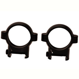 Burris Signature 1-inch Zee Rings Medium Black Matte