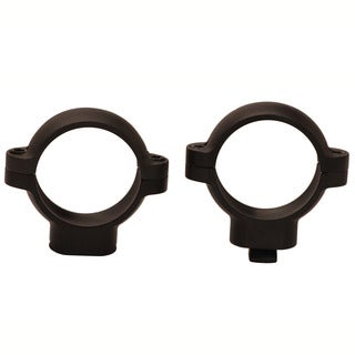 Burris Signature 1-inch Rings High Black Matte
