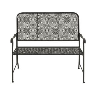 44-inch Great Outdoors Rustic All-weather Tin Bench
