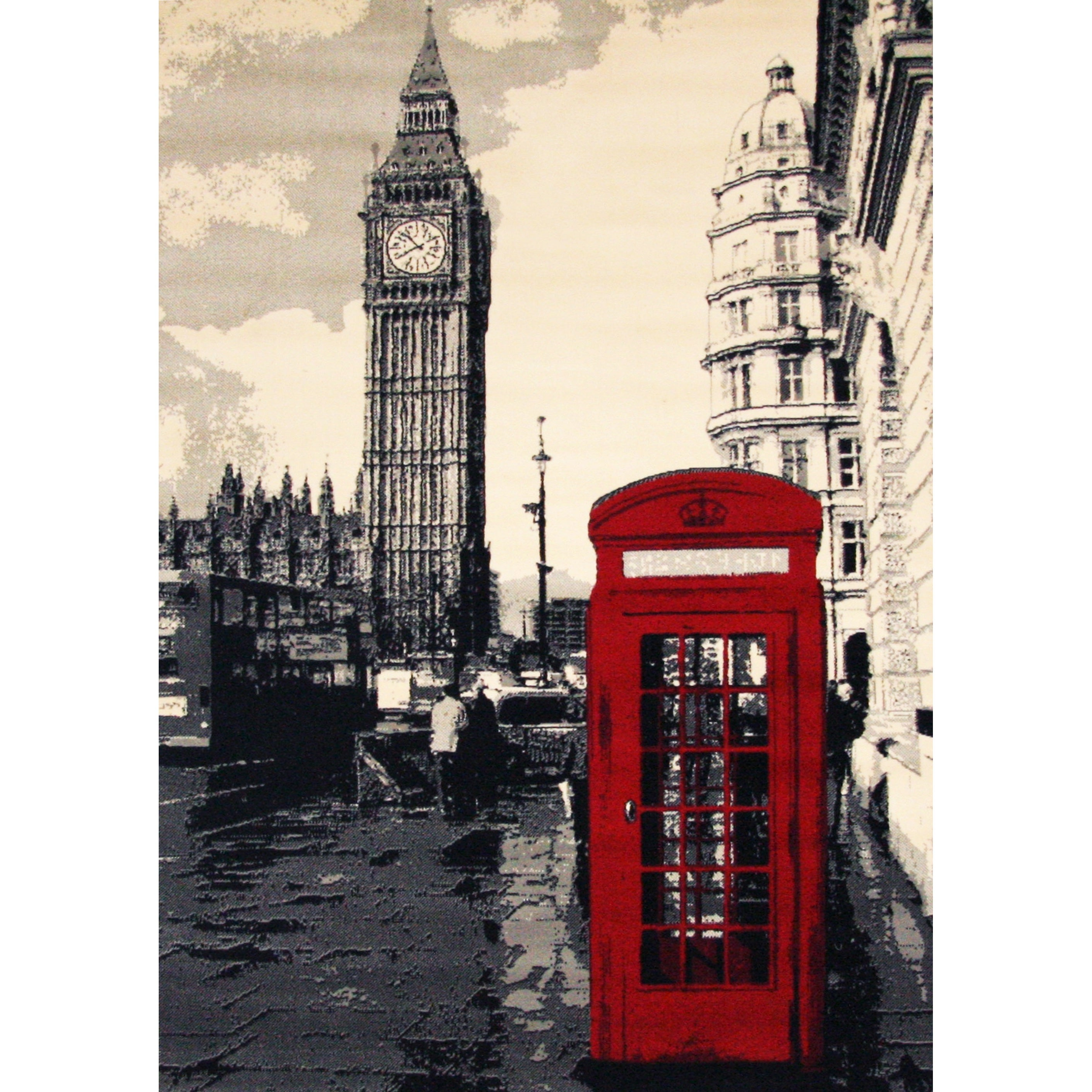 Big Ben Area Rug by Greyson Living (3'9 x 5'6) (Big Ben),...