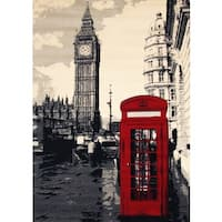 Big Ben Area Rug by Greyson Living - 3'9 x 5'6