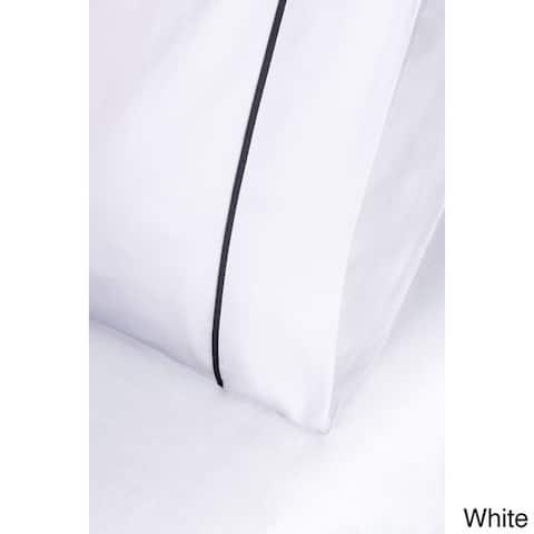 Superior 600 Thread Count Deep Pocket Bahama Cotton Blend Bed Sheet Set