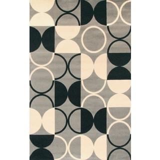 Greyson Living Pluto Rectangle Grey Area Rug (7'10 x 10'6)
