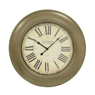 J Hunt and Company 24-inch Classic Glenmont Wall Clock