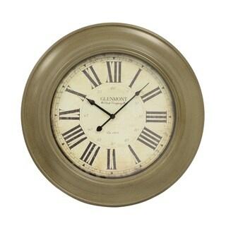 J Hunt and Company 24-inch Classic Glenmont Wall Clock