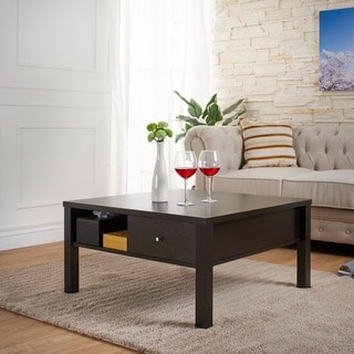 Furniture of America Wellson Square Contemporary Coffee Table