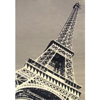 Paris Tower Area Rug by Greyson Living - 5'3 x 7'6