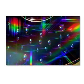 Beata Czyzowska Young 'Rainbow Logistics I' Canvas Art