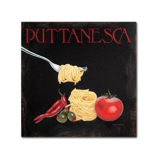 Marco Fabiano 'Italian Cuisine I' Canvas Art