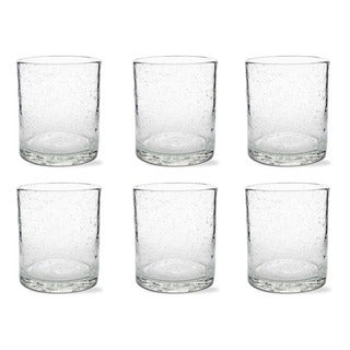 Tag Bubble Glass Clear Double Old Fashion (Set of 6)