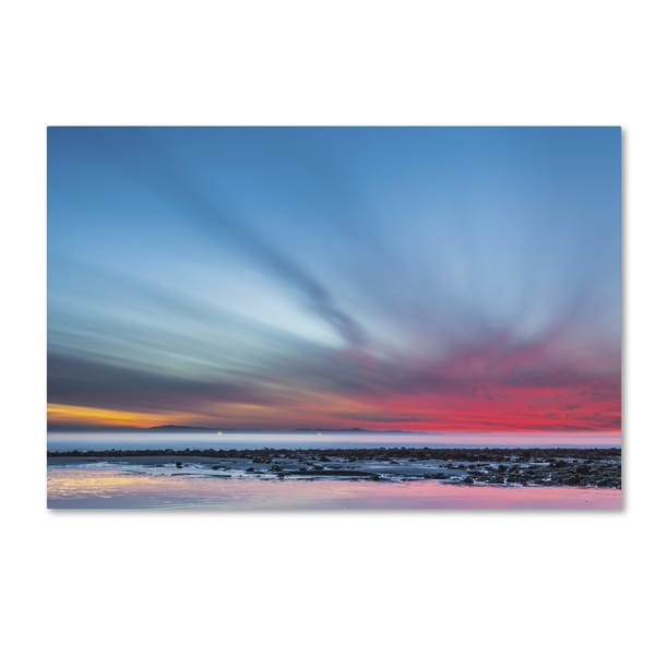 Chris Moyer 'Last Light' Canvas Art