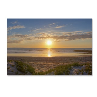 Chris Moyer 'Pierpont Sunset' Canvas Art