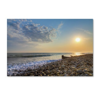 Chris Moyer 'Rockin Sunset' Canvas Art