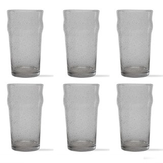 Tag Bubble Glass Clear Tulip Pilsner (Set of 6)
