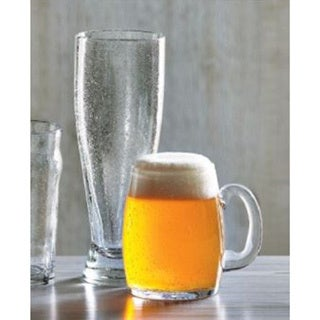 Tag Bubble Glass Clear Pilsner (Set of 6)