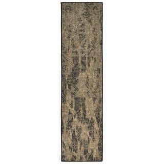 Liora Manne Fragments Neutral Indoor Rug (1'11 x 7'6)