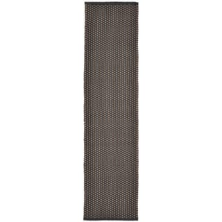 Plains Charcoal Outdoor Rug (2' x 8')