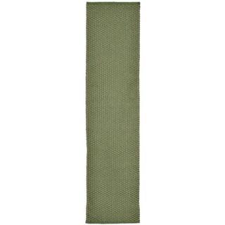Plains Green Outdoor Rug (2' x 8')