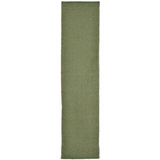 Plains Green Outdoor Rug (2' x 8') - 2' x 8'