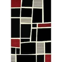 Mercury Block Area Rug by Greyson Living (7'10 x 10'6) - 7'10 x 10'6