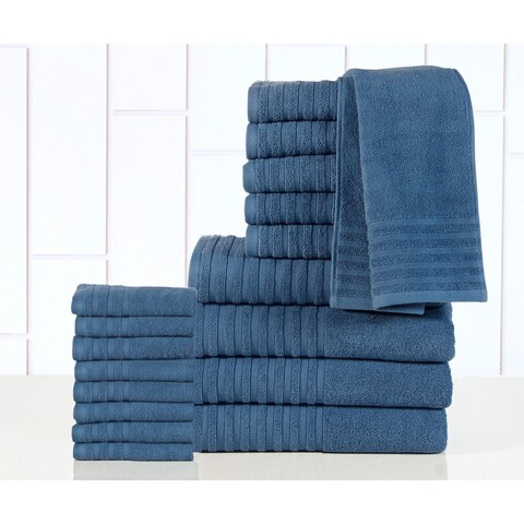 Casa Platino - 100-percent Egyptian Cotton 600 GSM 18-piece Towel Set