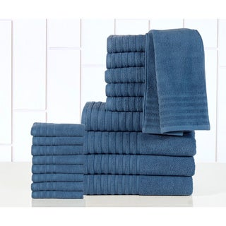 Casa Platino Luxurious Cotton 600 GSM 18-piece Towel Set