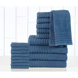 Casa Platino - 100-percent Egyptian Cotton 600 GSM 18-piece Towel Set|https://ak1.ostkcdn.com/images/products/10226335/P17347377.jpg?impolicy=medium